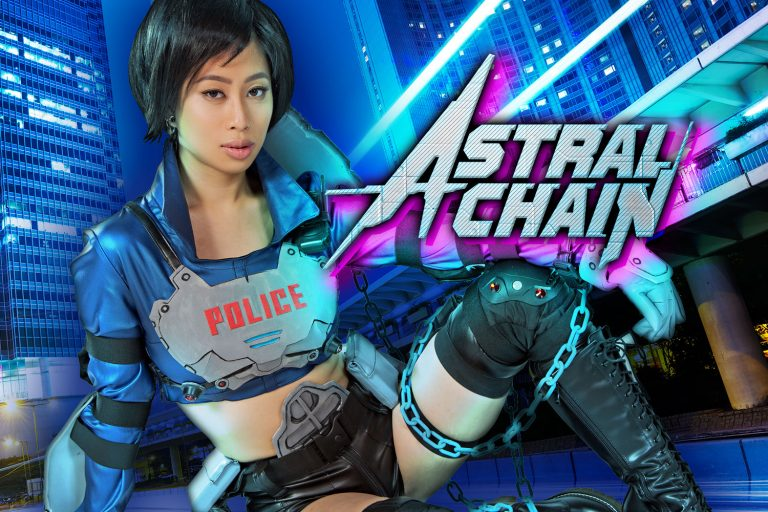 vr cosplay scene with jade kush, Astral Chain porn