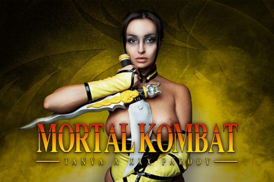 Alyssia Kent in Mortal Combat VR Cosplay scene