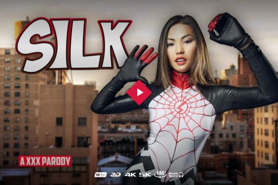 spiderman and silk vr porn cosplay