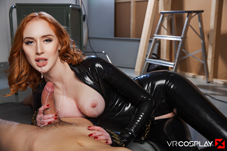 19 Black Porn black widow vr cosplay porn with redhead lenina crowne