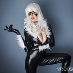 black cat vr porn cosplay