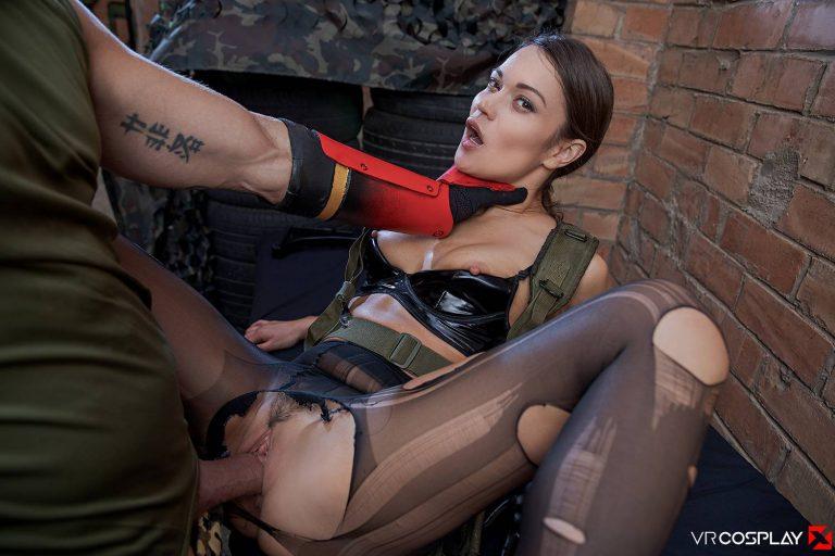 VR Porn Cosplay Metal Gear Solid 06