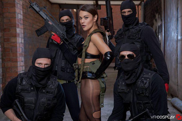 VR Porn Cosplay Metal Gear Solid 17